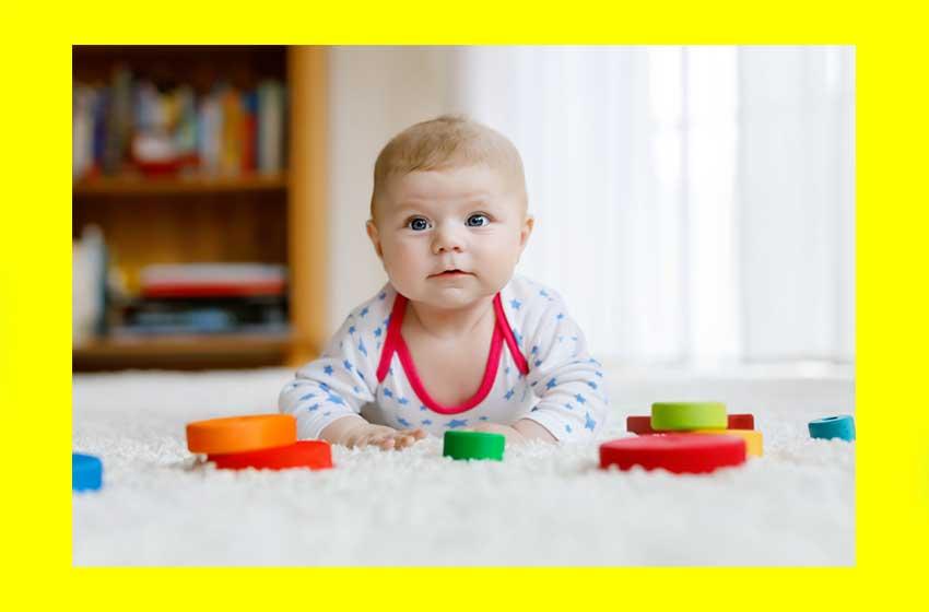 بهترین اسباببازی برای نوزادان تا ماه ششم
