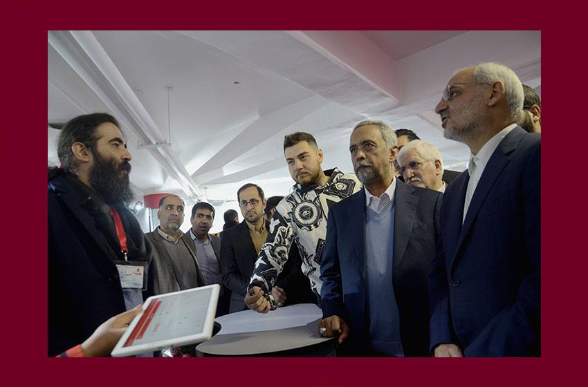 افتتاح پایگاه خبری اسباببازیها با حضور وزیر و معاون رییس جمهور