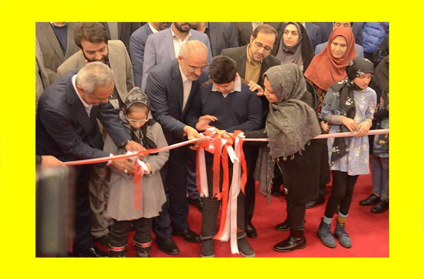 بازدید وزیر آموزش و پرورش و معاون اقتصادی رییس جمهور از پنجمین جشنواره ملی اسباببازی