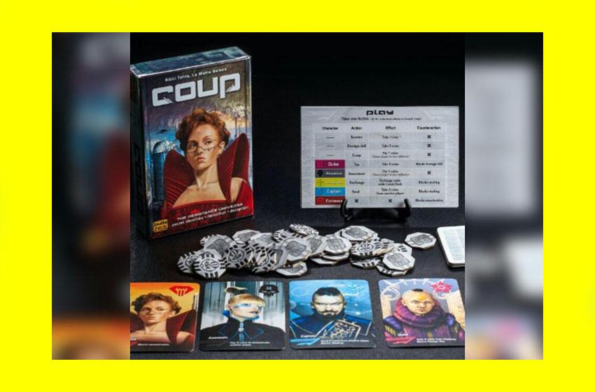 Coup (کودتا) مناسب سنین بالای سیزده